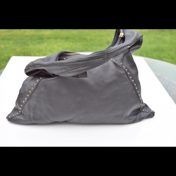 Sigrid Olsen Bags   Leather Studded Hobo Bag   Poshmark ed68794adc